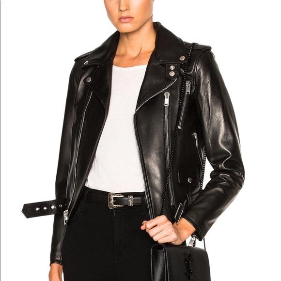 a1346c112b Biker jacket Saint Laurent
